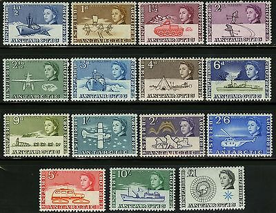 British Antarctic Territory   1963   Scott # 1-15   MNH Set