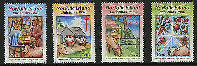 Norfolk Island   1996   Scott # 610-613    Mint Never Hinged Set