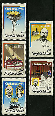 Norfolk Island  1984   Scott # 347-351  MNH Set