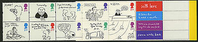 Great Britain   1996-2001   Scott #1652a    Mint Never Hinged Booklet Pane