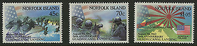 Norfolk Island   1992   Scott # 526-528    Mint Never Hinged Set