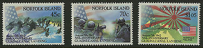 Norfolk Islands   1992   Scott # 526-528    Mint Never Hinged Set