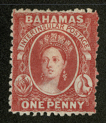 Bahamas   1863-65   Scott # 11c   Mint Hinged