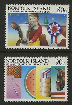 Norfolk Islands   1985   Scott # 371-372    Mint Never Hinged Set