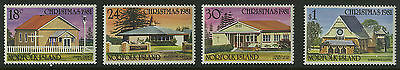 Norfolk Islands   1981   Scott # 283-286    Mint Never Hinged Set