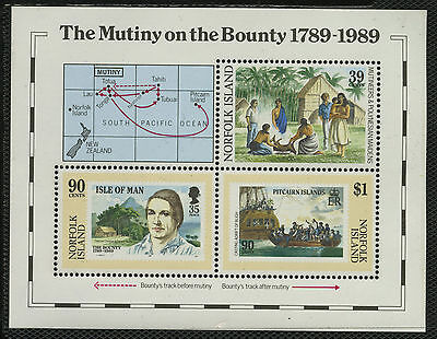 Norfolk Islands   1989   Scott # 456    Mint Never Hinged Souvenir Sheet
