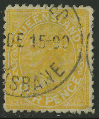 Queensland   1882-83   Scott # 68   USED