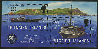 Pitcairn Islands  1997  Scott #464  MNH Souvenir Sheet