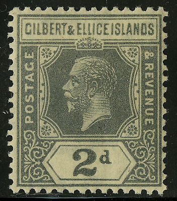 Gilbert & Ellice Islands   1921-27   Scott # 30   Mint  Hinged