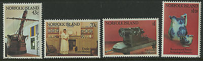 Norfolk Island   1991   Scott # 504-507    Mint Never Hinged Set