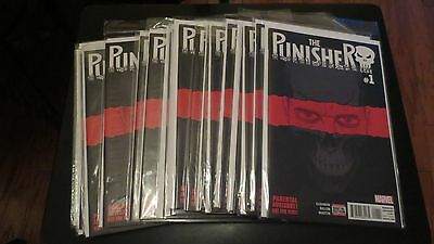 Lot of 20 1st Print Marvel The Punisher #1 (2016)  Comic Book NM or better