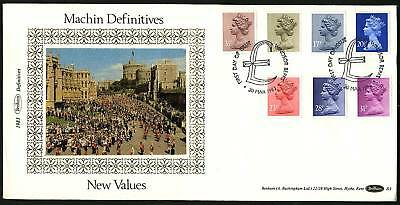 Great Britain 1983  March 30 Machins  Combo FDC set