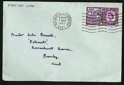Great Britain 1963  Scott #392  FDC