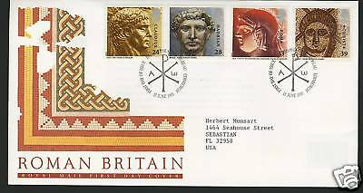Great Britain  1993  Scott # 1502-1505  First Day Cover