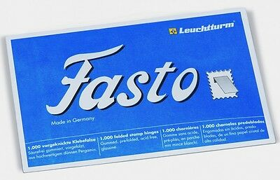 Lighthouse • Fasto Folded Stamp Hinges • Pack of 1,000