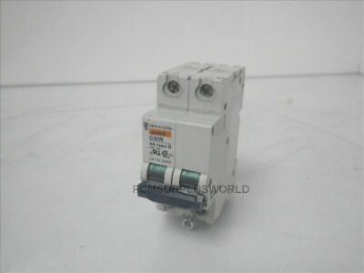 C60N 4A-TYPE D Merlin Gerin 2 Pole Circuit Breaker (Used and Tested)