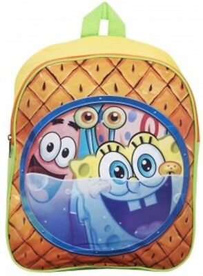 Boys Girls Nickelodeon Spongebob Squarepants School Backpack Rucksack Travel Bag