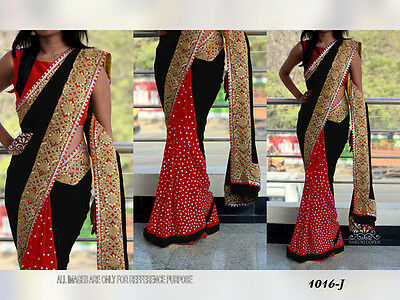 Bollywood Designer Indian Traditional Ethnic Bridal Party Wear New Saree bf53
