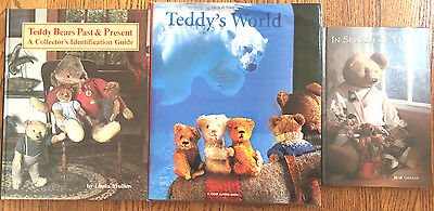 Teddy Bears Past and Present, Teddy's World, In Search of Teddy Set of 3 HC Book