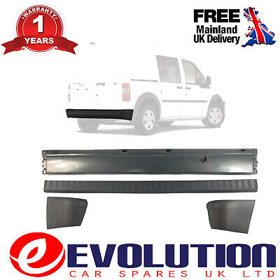 Rear Bumper + Bumper Cover + End Caps Ford Transit Connect 2002-2013