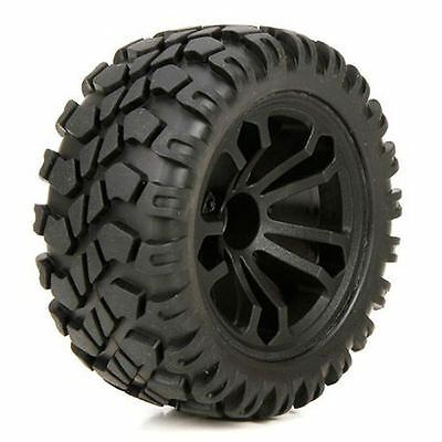 ECX 1/10 4WD Circuit Front / Rear Premounted Wheels and Tyres (2) - ECX43010