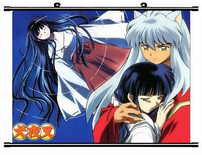 "Japan Anime InuYasha Sesshoumaru Home Decor poster Wall Scroll 23.6x17.7"" GO1168"