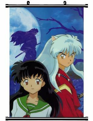 "Japan Anime InuYasha Sesshoumaru Home Decor poster Wall Scroll 23.6x35.4"" GO1169"