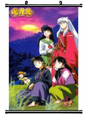 "Japan Anime InuYasha Sesshoumaru Home Decor poster Wall Scroll 23.6x35.4"" GO1173"