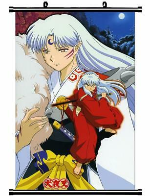 "Japan Anime InuYasha Sesshoumaru Home Decor poster Wall Scroll 23.6x35.4"" GO1175"