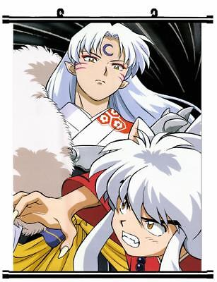 "Japan Anime InuYasha Sesshoumaru Home Decor poster Wall Scroll 23.6x35.4"" GO1178"