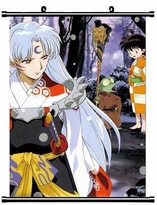 "Japan Anime InuYasha Sesshoumaru Home Decor poster Wall Scroll 23.6x35.4"" GO1180"
