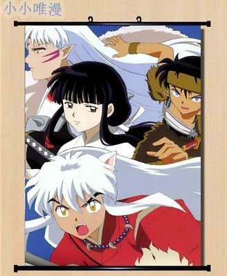 "Japan Anime InuYasha Sesshoumaru Home Decor poster Wall Scroll 23.6x35.4"" GO1189"