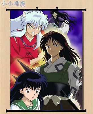 "Japan Anime InuYasha Sesshoumaru Home Decor poster Wall Scroll 23.6x35.4"" GO1194"