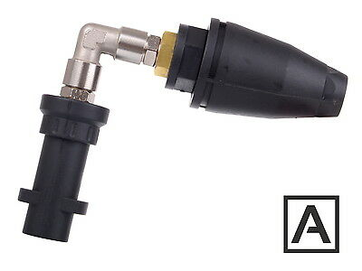 Angled Lance Unterbody Cleaning with Rotary Nozzle Dirt Blaster for KARCHER K2-5