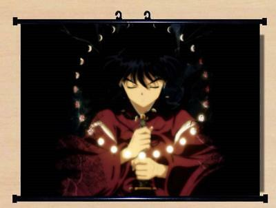 "Japanese Anime InuYasha Roles Home Decor poster Wall Scroll 23.6x17.7"" GO1210"