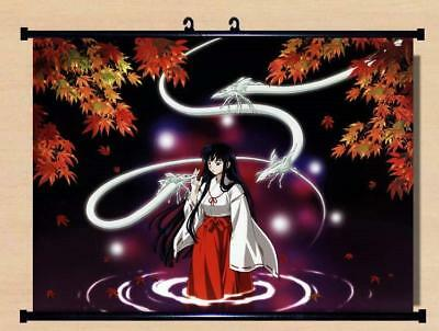 "Japanese Anime InuYasha Roles Home Decor poster Wall Scroll 23.6x17.7"" GO1221"