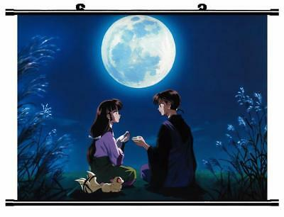 """Japanese Anime InuYasha Roles Home Decor poster Wall Scroll 23.6x17.7"""" GO1230"""
