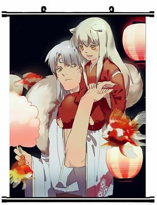 "Japanese Anime InuYasha Roles Home Decor poster Wall Scroll 24""x32"" GO1236"
