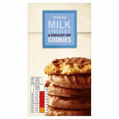 Milk Chocolate Chip Cookies Waitrose 150g