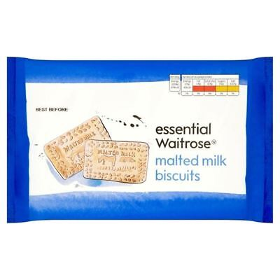Malted Milk Biscuits essential Waitrose 400g