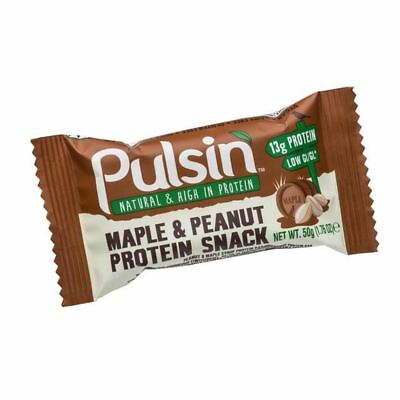 Pulsin' Maple and Peanut Protein Snack 50g