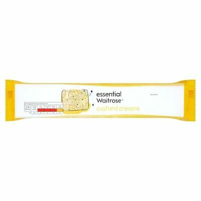 Custard Creams essential Waitrose 200g