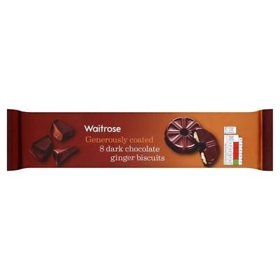 Dark Chocolate & Ginger Shortcake Ring Waitrose 180g