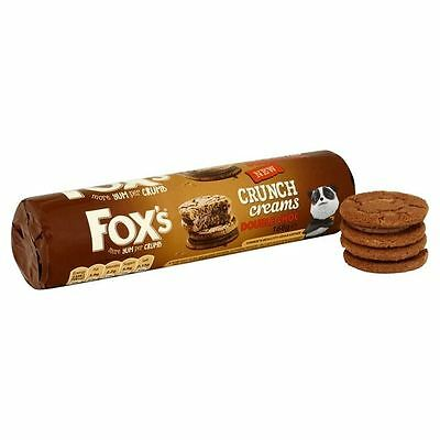 Fox's Double Chocolate Crunch Cream 168g