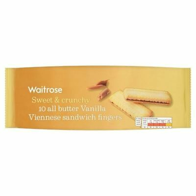 All Butter Viennese Biscuits Waitrose 150g