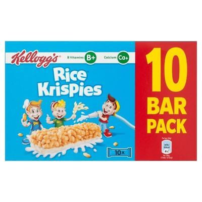 Kellogg's Rice Krispies Cereal & Milk Bars 10 x 20g