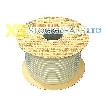 2.5mm Twin & Earth T&E Electrical Cable Wire 100M Metres New Colours 6242Y NEW