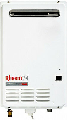 NEW Rheem 875E24NF Natural Gas Continuous Flow Hot Water System