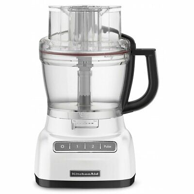 NEW KitchenAid KFP1444AFP Platinum Food Processor - Frosted Pearl
