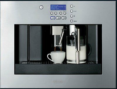 NEW Delonghi EABI6600 PrimaDonna Built-In Coffee Machine